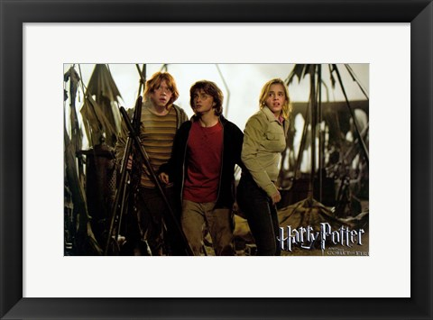 Framed Harry Potter and the Goblet of Fire Print
