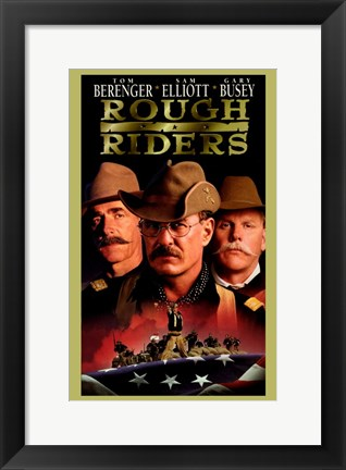 Framed Rough Riders Print