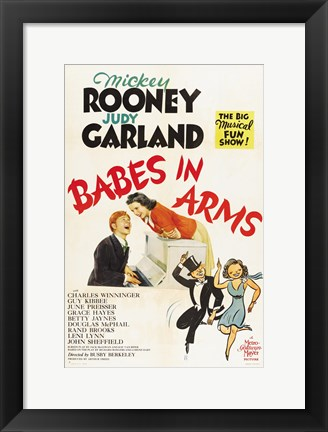 Framed Babes in Arms Print