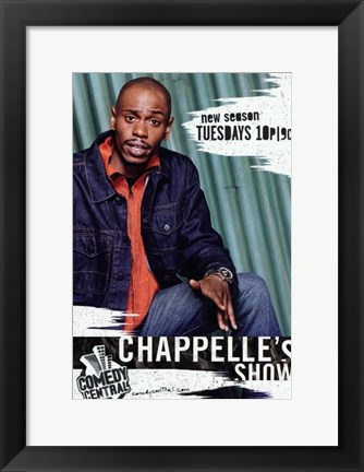 Framed Chappelle's Show New Season Print