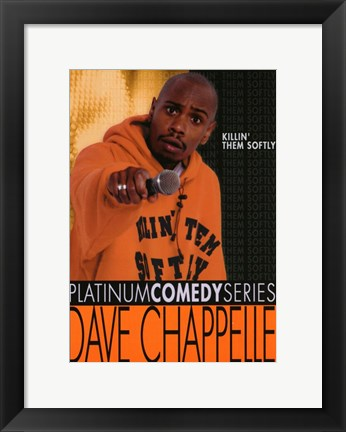 Framed Chappelle's Show Killin' Them Softly Print