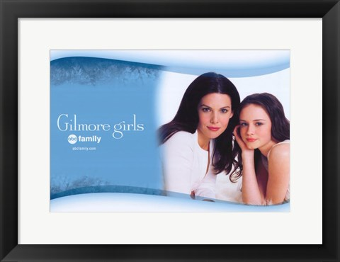Framed Gilmore Girls - posing Print