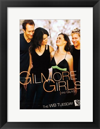 Framed Gilmore Girls - walking Print