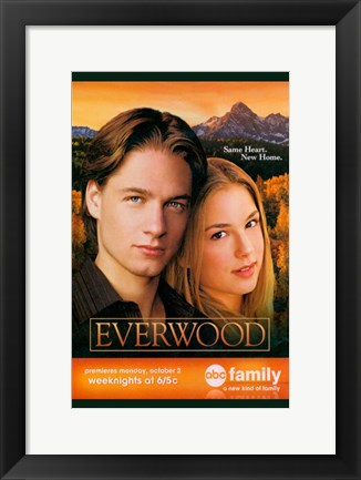 Framed Everwood Print