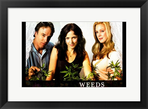 Framed Weeds (TV) Nancy Doug Isabelle Print