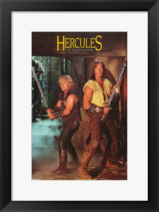 Framed Hercules: The Legendary Journeys Print