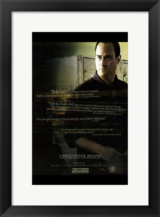 Framed Law & Order: Special Victims Unit Print
