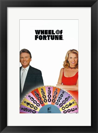 Framed Wheel of Fortune Print