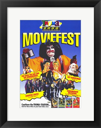 Framed Troma Moviefest Print