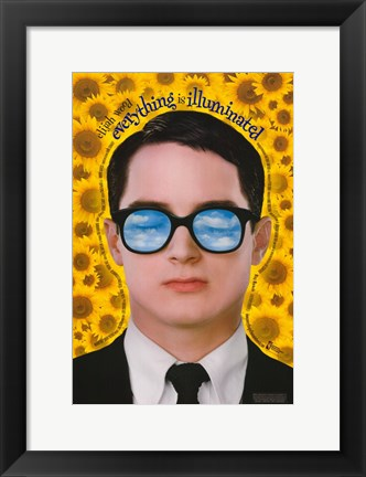 Framed Everything Is Illuminated - vertical Print