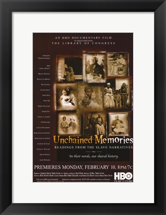 Framed Unchained Memories Print