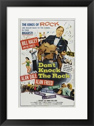 Framed Don't Knock The Rock Print