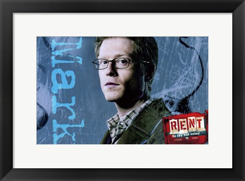 Framed Rent - Mark Print