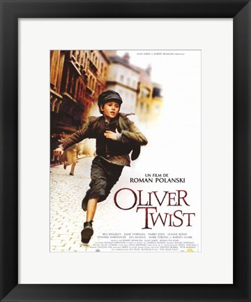 Framed Oliver Twist French Print