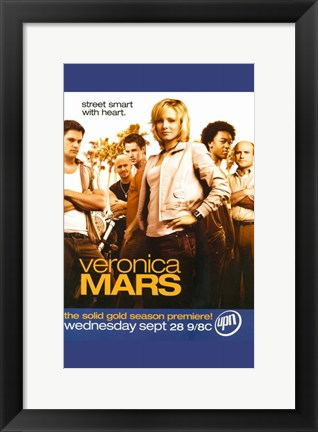 Framed Veronica Mars TV Series Print
