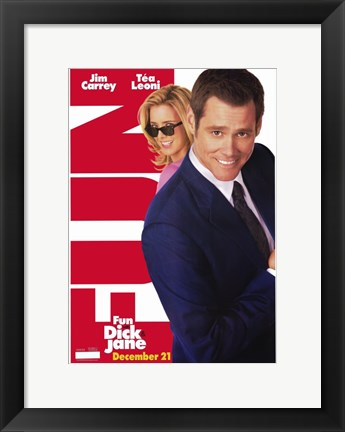 Framed Fun with Dick and Jane Tea Leoni Print