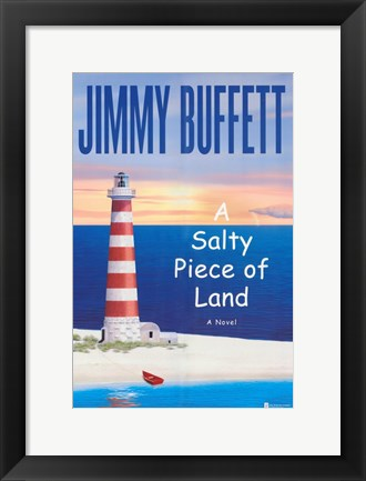Framed Jimmy Buffett Print