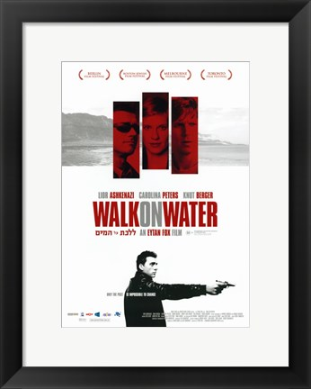 Framed Walk On Water Print