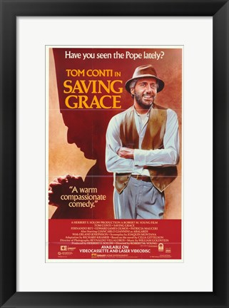 Framed Saving Grace Print