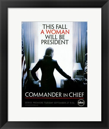 Framed Commander in Chief Print