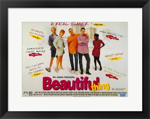 Framed Beautiful Thing Print