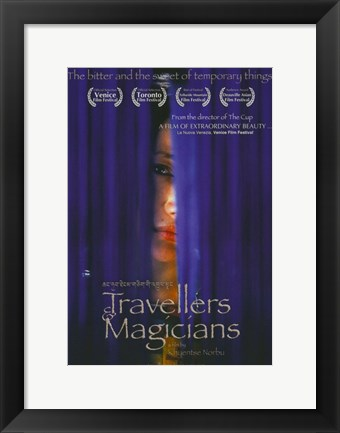 Framed Travellers and Magicians Print