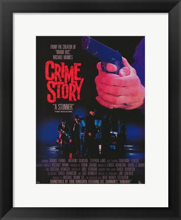 Framed Crime Story Print
