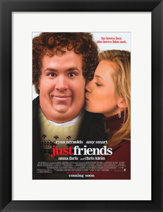 Framed Just Friends Print