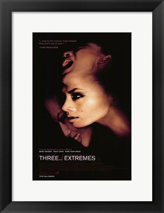 Framed Three... Extremes Print