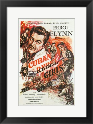 Framed Cuban Rebel Girls Print