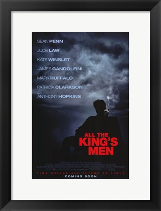 Framed All the King's Men Print