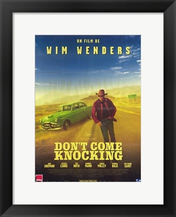 Framed Don't Come Knocking Print