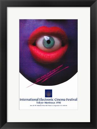 Framed International Electronic Cinema Festival Print
