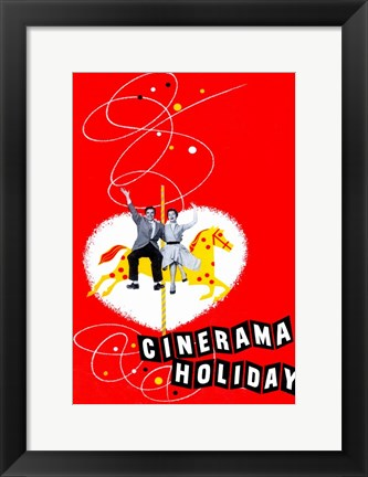 Framed Cinerama Holiday Print