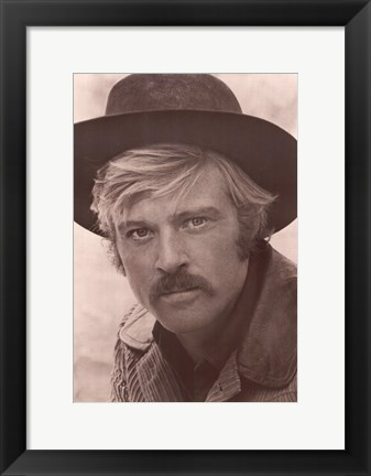 Framed Robert Redford Print