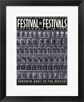 Framed Toronto International Film Festival 1993 Print