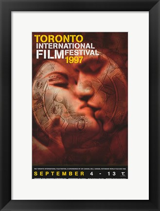 Framed Toronto International Film Festival 1997 Print