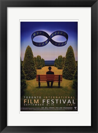 Framed Toronto International Film Festival 2001 Print