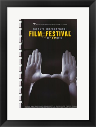 Framed Toronto International Film Festival 2005 Print
