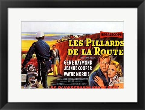 Framed Plunder Road Print