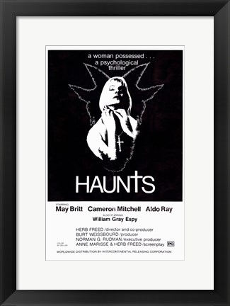 Framed Haunts Print