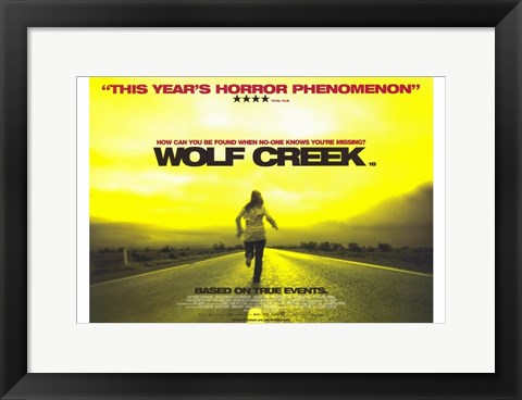 Framed Wolf Creek Print