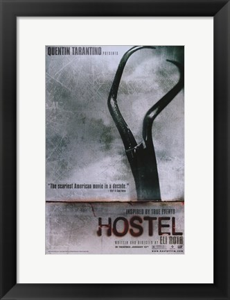 Framed Hostel Print