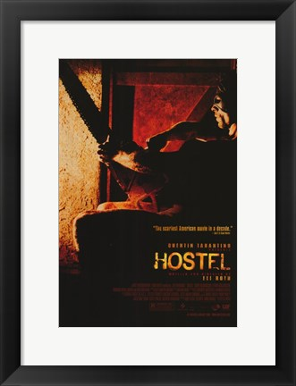 Framed Hostel - man with a mask Print