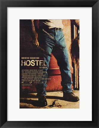Framed Hostel - carrying a head Print