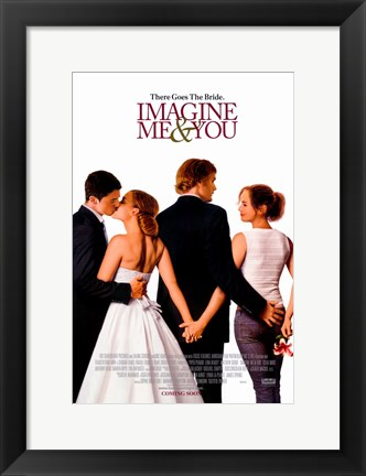 Framed Imagine Me & You Print