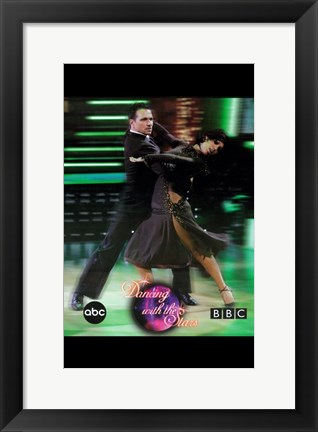 Framed Dancing with the Stars Flamingo Print