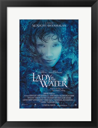 Framed Lady in the Water Print