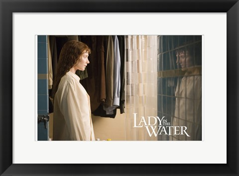 Framed Lady in the Water - standing Print