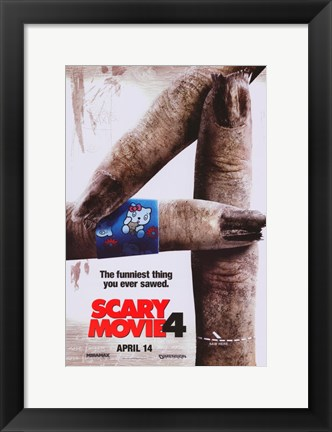 Framed Scary Movie 4 - fingers Print